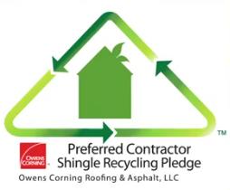 Owens Corning Recycling Pledge