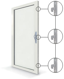 Three Point Locking System
