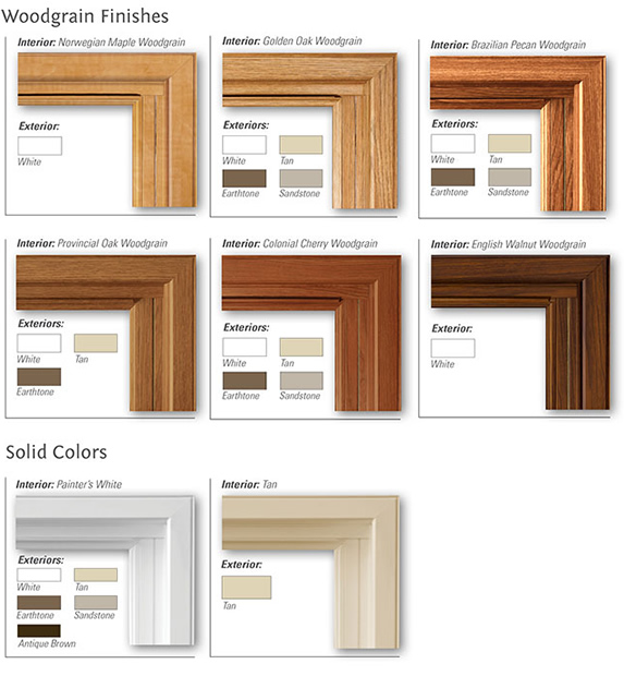 Window Color Options