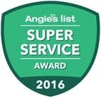Angie's List 2016 Super Service Award