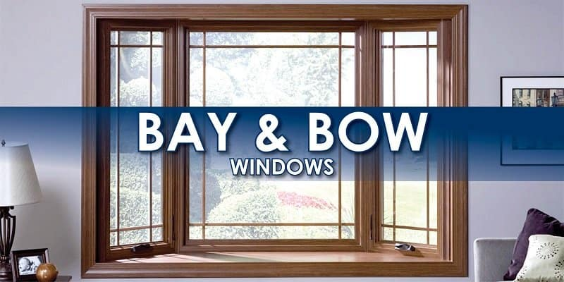 bay window difference between bay and bow windows