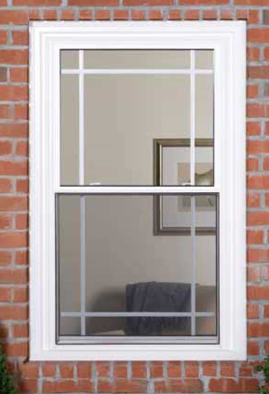 Double hung windows vinyl window installation for Picture window replacement