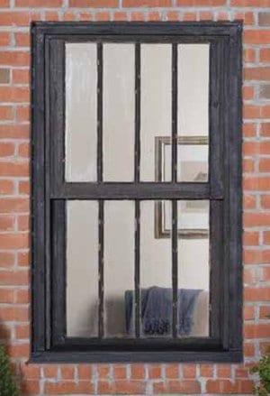 An old inefficient wood window.