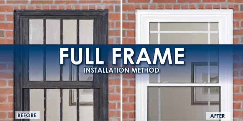 full frame window replacement meathod milwaukee wi weather tight corporation - Window Frame Replacement