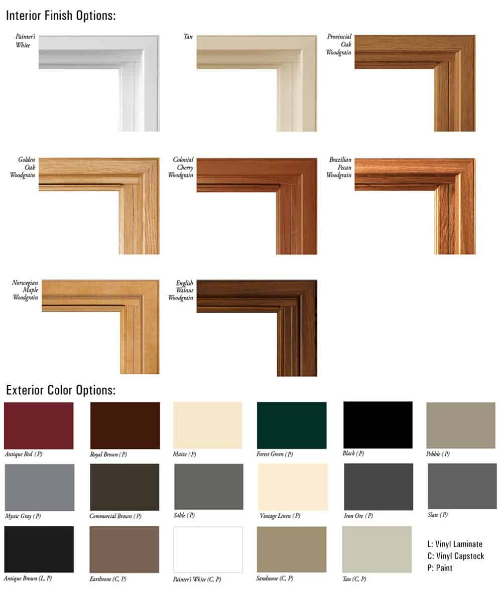 Exterior Window Color Schemes Home Design
