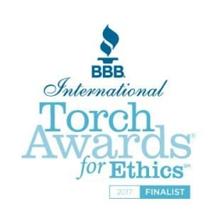 BBB International Torch Award For Ethics Finalist