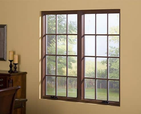 Casement Window with Grids