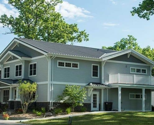 Standing Seam Style Metal Roofing