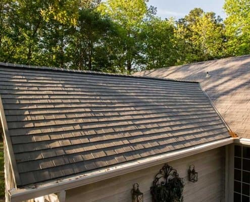Shake Style Metal Roofing