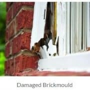 damaged brickmould