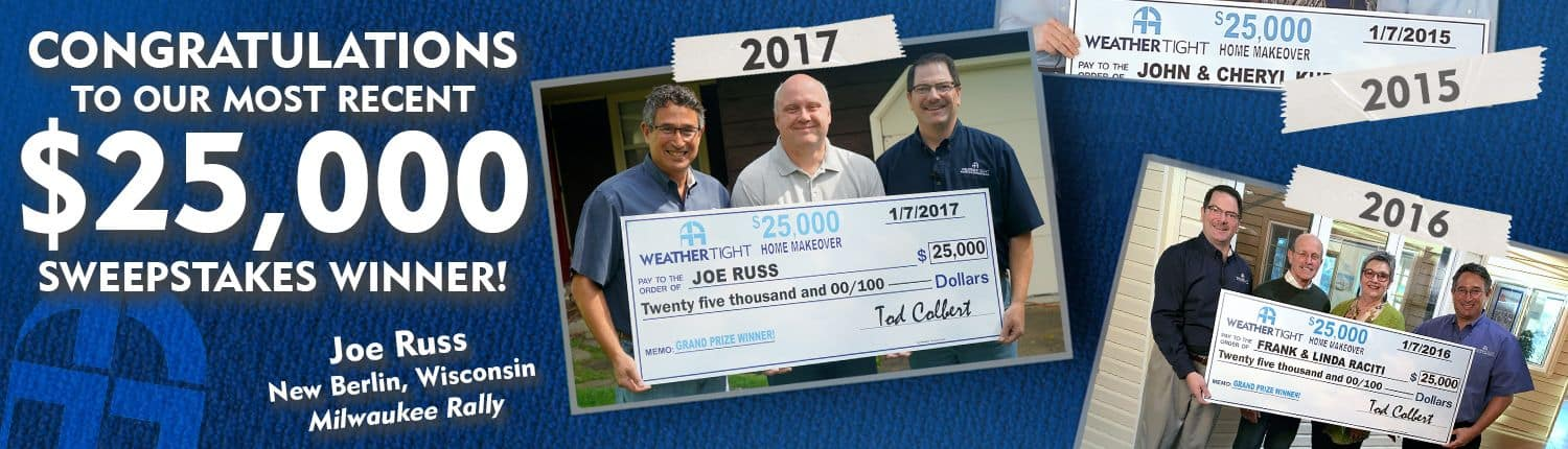 2017 Home Makeover Sweepstakes Winner Of Windows & Gutter Protection