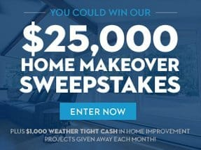 Weathertight sweepstakes