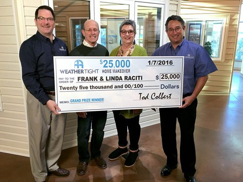 Weather Tight's $25,000 Home Makeover Sweepstakes