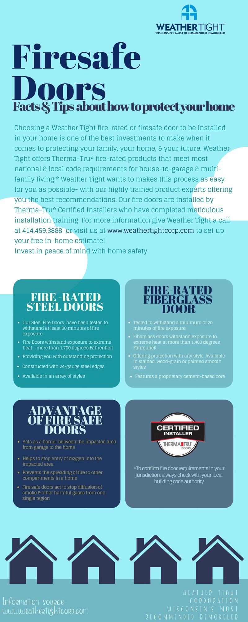 Fire Safe Door Info Tips