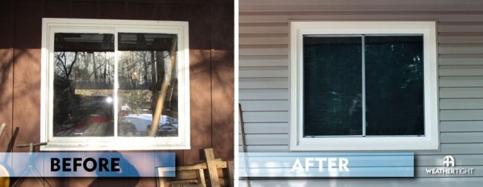 New Window Before & After