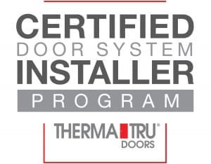 Therma Tru Certified Door Installer Program