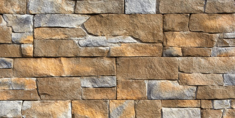 Pocono Autumn Stone Siding Option