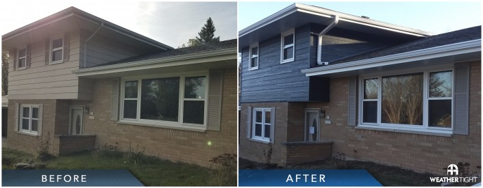 Windows & Siding Before & After