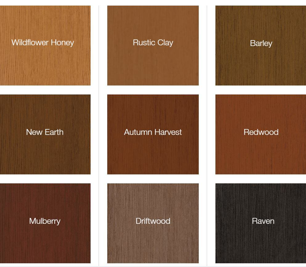 Entry Door Stain Colors