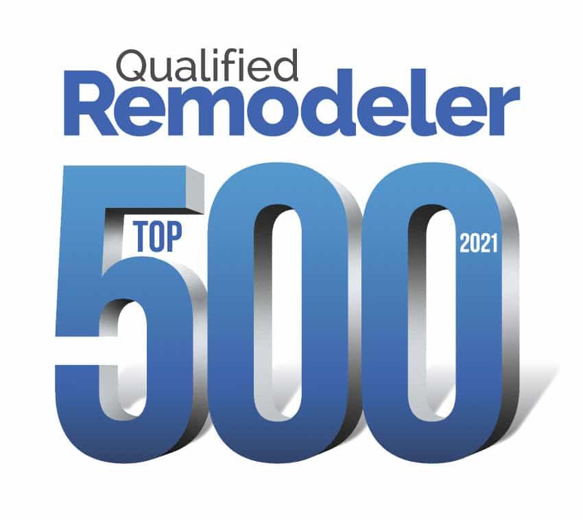 Qualified Remodeler Top 500 Award Winner